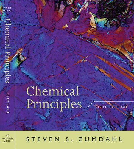 Chemical Principles Print Study Guide  6th 2009 edition cover
