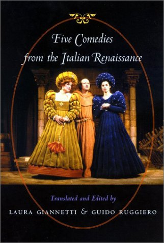 Five Comedies from the Italian Renaissance   2003 edition cover
