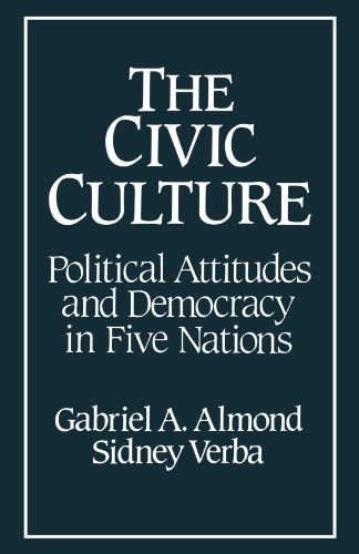 Civic Culture Political Attitudes and Democracy in Five Nations  1989 edition cover