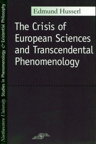 Crisis of European Sciences and Transcendental Phenomenology   1970 edition cover