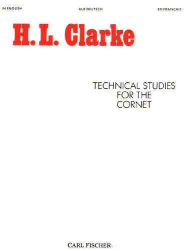 Technical Studies for the Cornet 1st edition cover