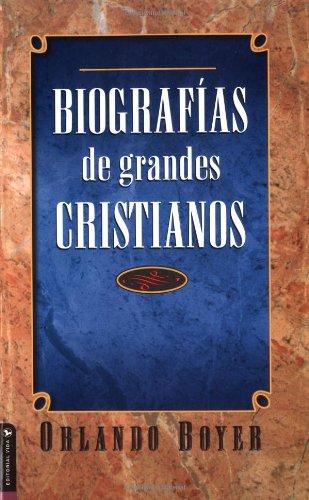 Biograf�as de Grandes Cristianos   2001 edition cover