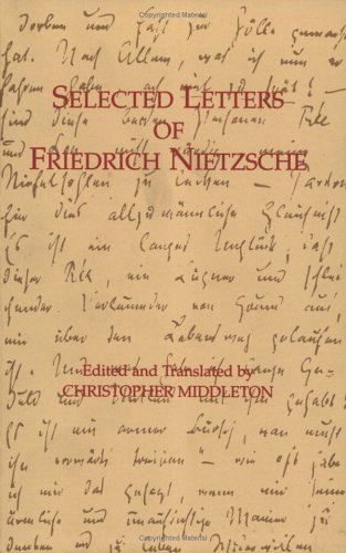 Selected Letters of Friedrich Nietzsche  2nd (Reprint) edition cover