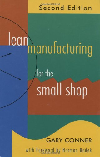 Lean Manufacturing for the Small Shop  2nd 2009 edition cover