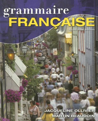 Grammaire Francaise  4th 2008 edition cover