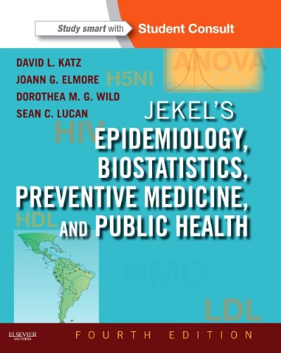 Jekel's Epidemiology, Biostatistics, Preventive Medicine, and Public Health With STUDENT CONSULT Online Access 4th 2013 edition cover