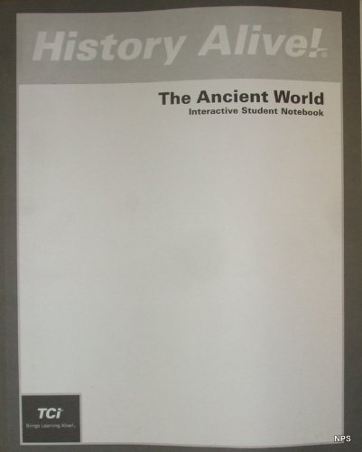 History Alive! The Ancient World (Notebook) N/A edition cover