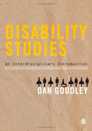 Disability Studies An Interdisciplinary Introduction  2011 9781847875587 Front Cover