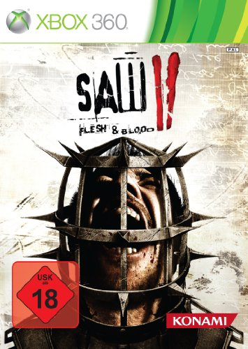 SAW 2 - Flesh and Blood Xbox 360 artwork