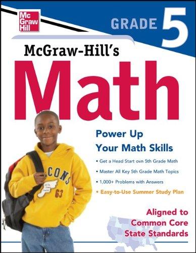 Math, Grade 5   2012 edition cover