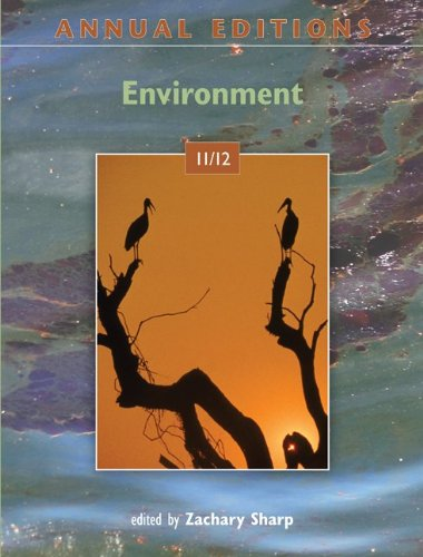 Annual Editions: Environment 11/12  30th 2012 edition cover
