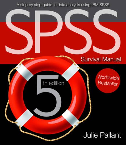 SPSS Survival Manual  5th 2013 edition cover