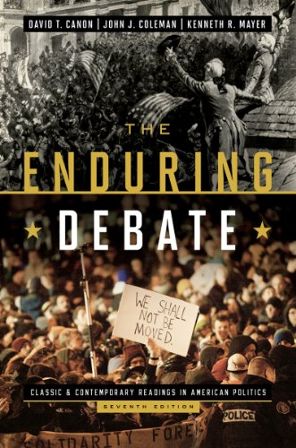 The Enduring Debate: Classic and Contemporary Readings in American Politics  2013 edition cover