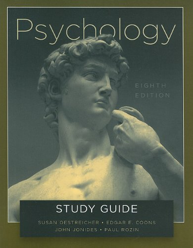 Psychology  8th (Guide (Pupil's)) edition cover