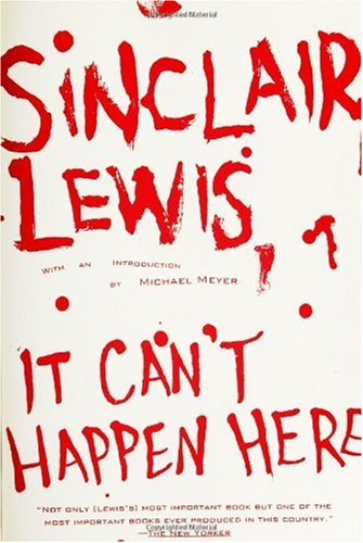 It Can't Happen Here  N/A edition cover