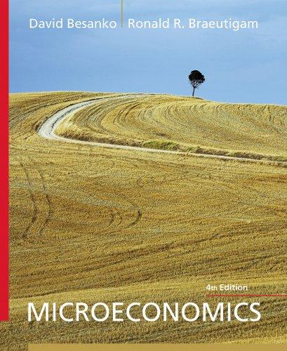 Microeconomics  4th 2011 edition cover
