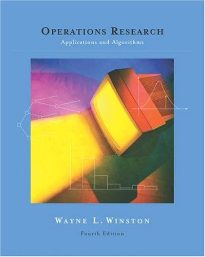 Operations Research Applications and Algorithms 4th 2004 (Revised) 9780534380588 Front Cover