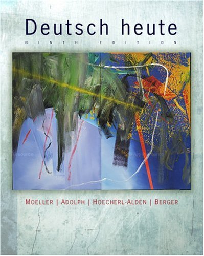 Deutsch Heute Introductory German 9th 2010 9780547180588 Front Cover