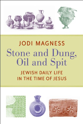 Stone and Dung, Oil and Spit Jewish Daily Life in the Time of Jesus  2011 edition cover