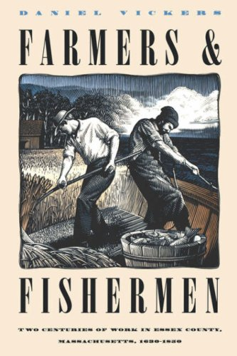 Farmers and Fishermen Two Centuries of Work in Essex County, Massachusetts, 1630-1850  1994 edition cover