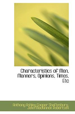 Characteristics of Men, Manners, Opinions, Times, Etc  2009 edition cover