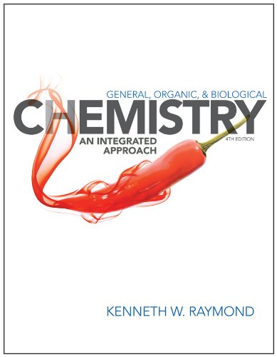 General Organic and Biological Chemistry An Integrated Approach 4th 2014 9781118352588 Front Cover