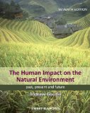 Human Impact on the Natural Environment Past, Present, and Future 7th 2013 edition cover
