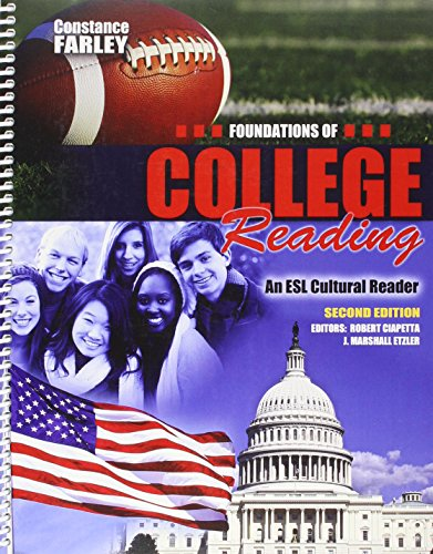 Foundations of College Reading An ESL Cultural Reader 2nd (Revised) edition cover
