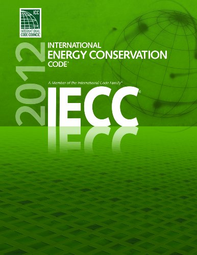 2012 International Energy Conservation Code   2011 edition cover
