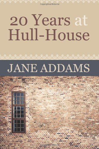 20 Years at Hull-House  N/A edition cover