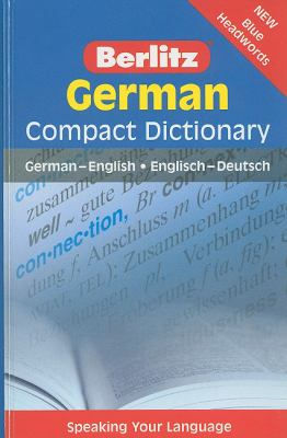German Compact Dictionary  3rd 2009 edition cover