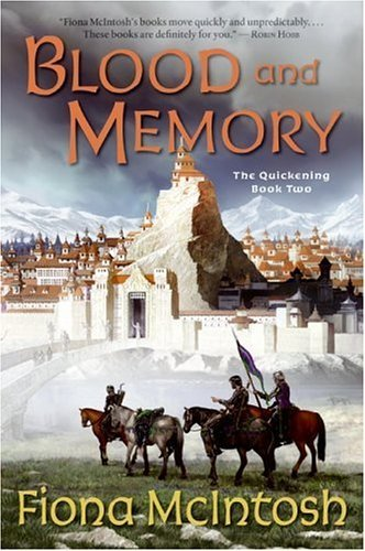 Blood and Memory The Quickening Book Two  2005 9780060747589 Front Cover