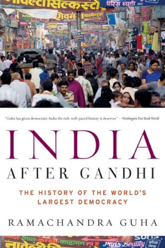 India after Gandhi The History of the World's Largest Democracy N/A edition cover