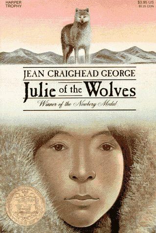 Julie of the Wolves   1972 9780064400589 Front Cover