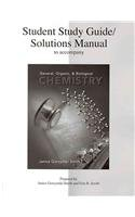 Student Study Guide/Solutions Manual to accompany General, Organic and Biological Chemistry   2010 9780073026589 Front Cover