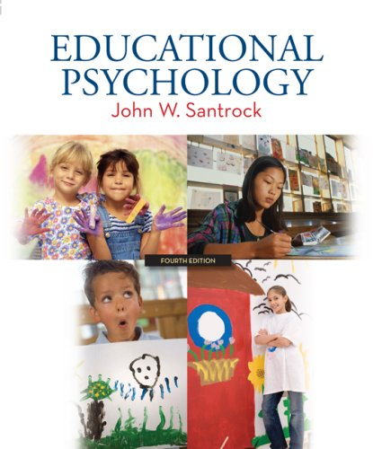Educational Psychology  4th 2009 edition cover