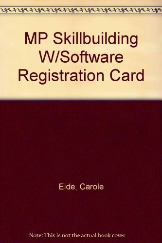 Mp Skillbuilding + Software Registration Card:   2012 edition cover