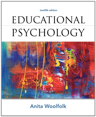 Educational Psychology  12th 2013 9780132893589 Front Cover