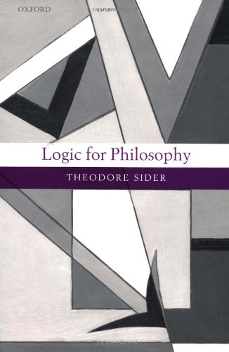Logic for Philosophy   2010 9780199575589 Front Cover