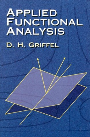Applied Functional Analysis   2002 edition cover