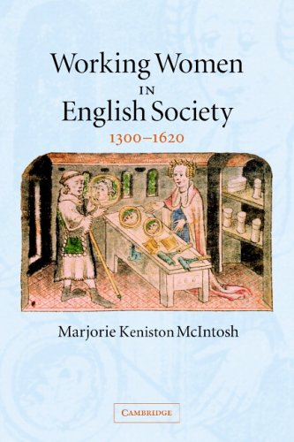 Working Women in English Society, 1300-1620   2005 edition cover