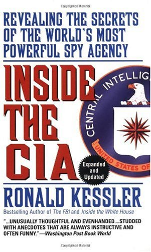 Inside the CIA Revealing the Secrets of the World's Most Powerful Spy Agency  1994 (Reprint) edition cover