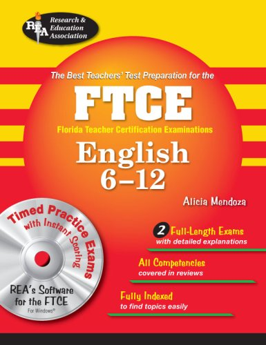 FTCE English 6-12   2008 9780738604589 Front Cover