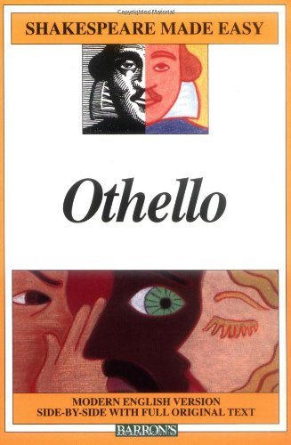 Othello Modern English Version Side-by-Side with Full Original Text  2002 edition cover