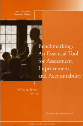 Benchmarking An Essential Tool for Assessment, Improvement, and Accountability  2006 edition cover