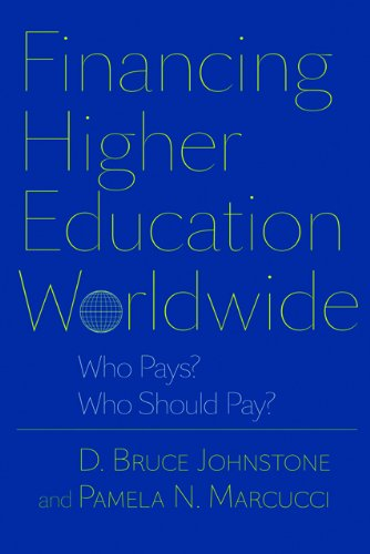 Financing Higher Education Worldwide Who Pays? Who Should Pay?  2010 edition cover