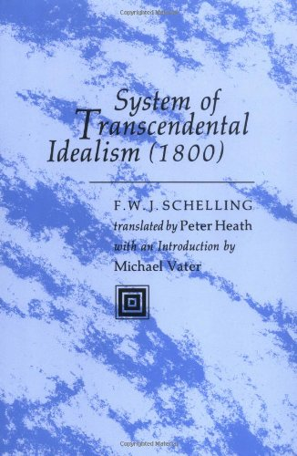 System of Transcendental Idealism 1800   1978 edition cover