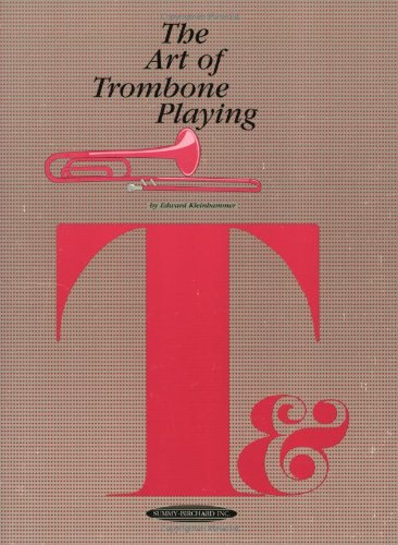 Art of Trombone Playing   1996 edition cover