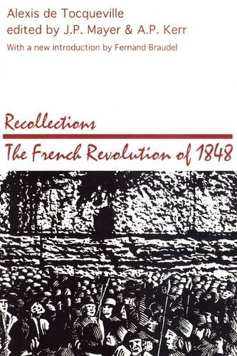 Recollections The French Revolution Of 1848 Reprint edition cover