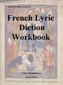 French Lyric Diction 3rd 2005 edition cover